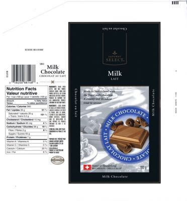 Canada - Safeway Select - Milk chocolate