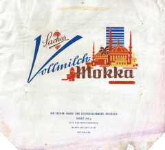 East Germany - Sachar - Vollmilch Mokka / Mocca