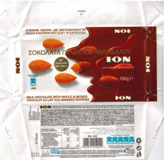 Greece - Ion - Milk Chocolate with Almonds