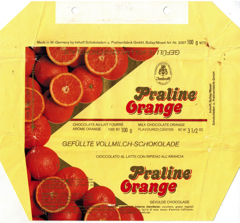West Germany - Imhoff - Praline Orange