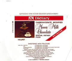 United Kingdom - P&A Dietary - Mocca Milk Chocolate