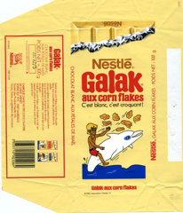 France - Galak - with corn flakes