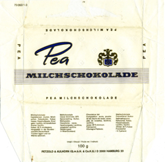 West Germany - Pea - Milk Chocolate